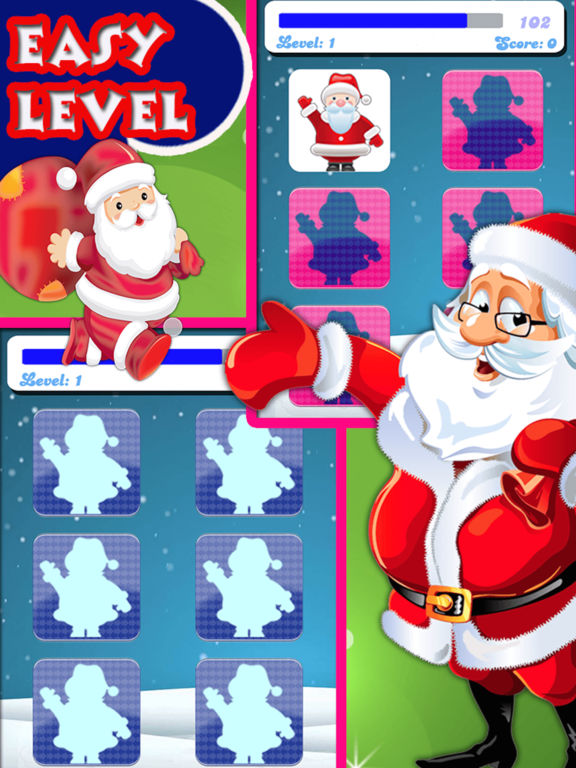 Christmas Matching Pairs : Find all the matching screenshot 9