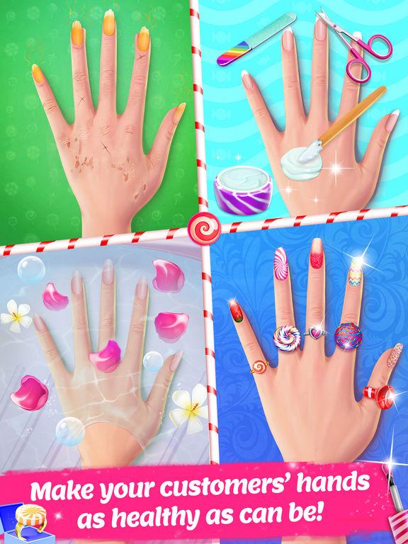 Candy Nail Art - Sweet Spa Fashion Game screenshot 9
