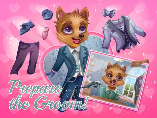 Puppy Love Wedding Day - Makeup, Hair, & Dress Up screenshot 10