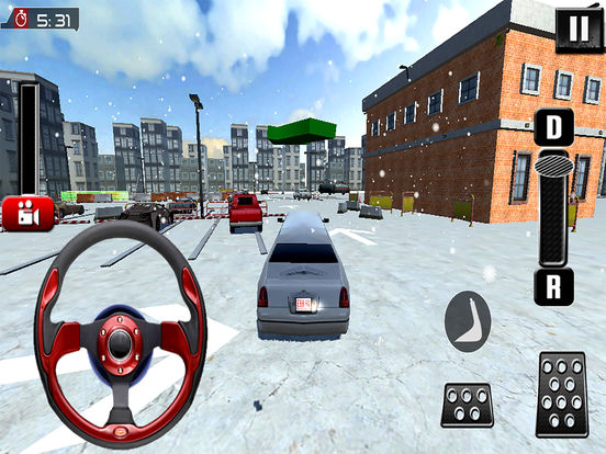 Fancy Limousine Parking : New Car Sim-ulation Game screenshot 6