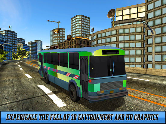 Snow Off-Road Bus Simulator screenshot 5
