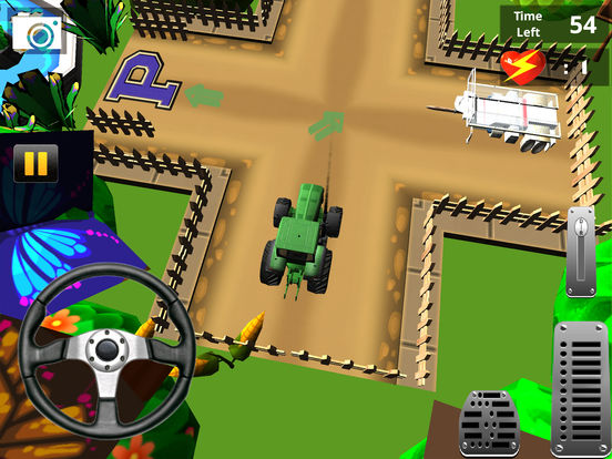 Classic Farm Tractor Simulator : Simple 3D Parking screenshot 8
