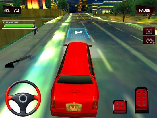 Limousine Taxi Drive 2017 screenshot 6