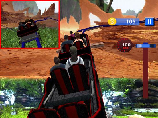 Water-Fall Forest Roller Coaster screenshot 8