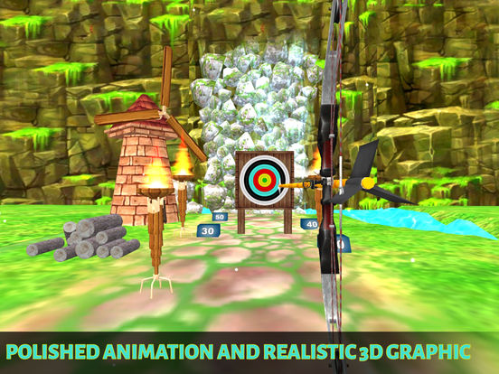 Archery BowMaster Champion : Real Winter Challenge screenshot 7