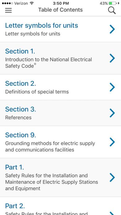 NESC 2017 IEEE App screenshot 3