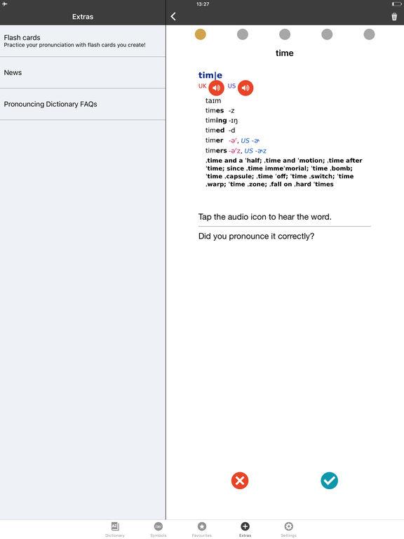 English Pronouncing Dictionary screenshot 9