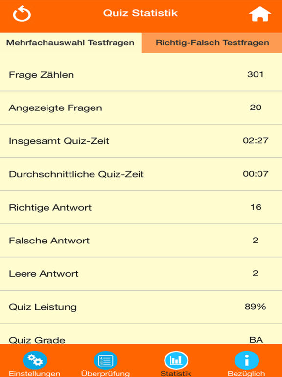 Das Biologie Quiz screenshot 9