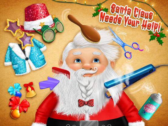 Christmas Animal Hair Salon 2 - No Ads screenshot 7