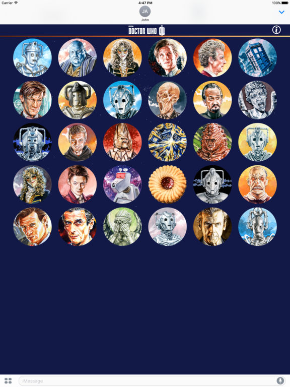 Doctor Who Stickers Pack 1 screenshot 6