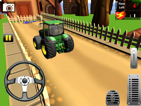 Classic Farm Tractor Simulator : Simple 3D Parking screenshot 7