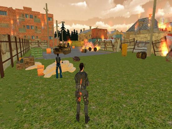 3D Tank War-fare Strike : New Mobile Combat Game-s screenshot 6