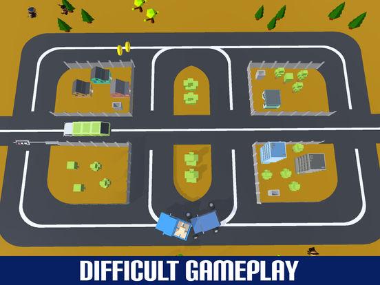 Crazy Circuit Drive Loop Car - Cartoon Crash Taxi screenshot 8