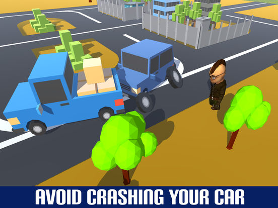 Fast Loop Car Driving Crash - Crazy Taxi Drive screenshot 8