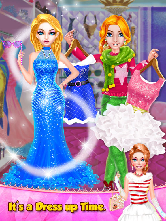 Christmas Girls Spa Salon screenshot 10