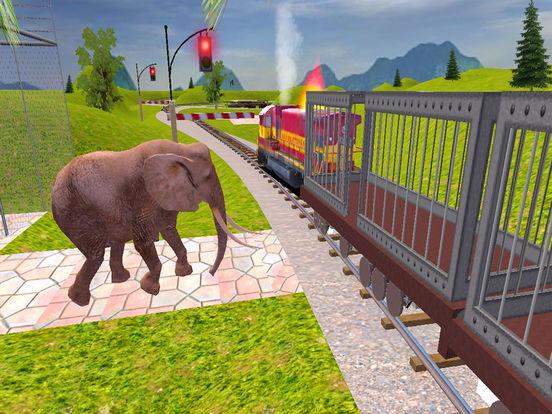 Animal Cargo Transport Train screenshot 6