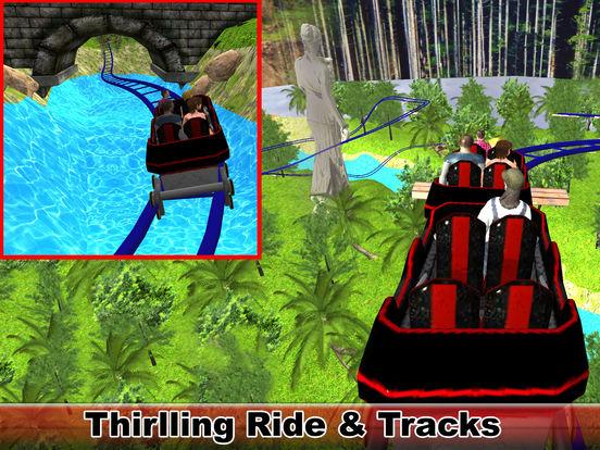 Water-Fall Forest Roller Coaster screenshot 6