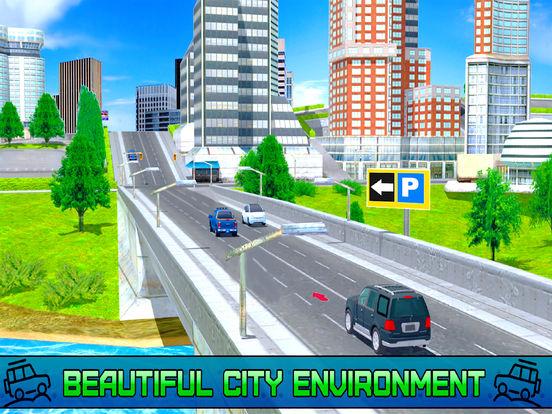 City Fast Prado Racing :Real Land-Cruiser Par-king screenshot 6