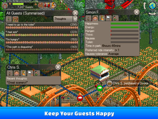 RollerCoaster Tycoon® Classic screenshot 7