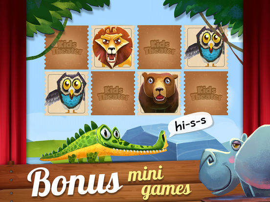 Kids Theater: Zoo Show screenshot 10
