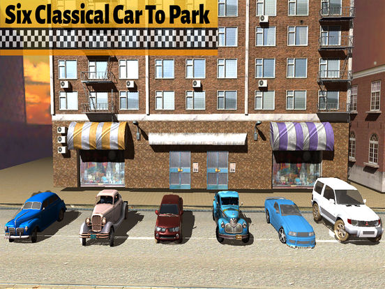 Master Car Parking Drive : Old Car Driving Game-s screenshot 5