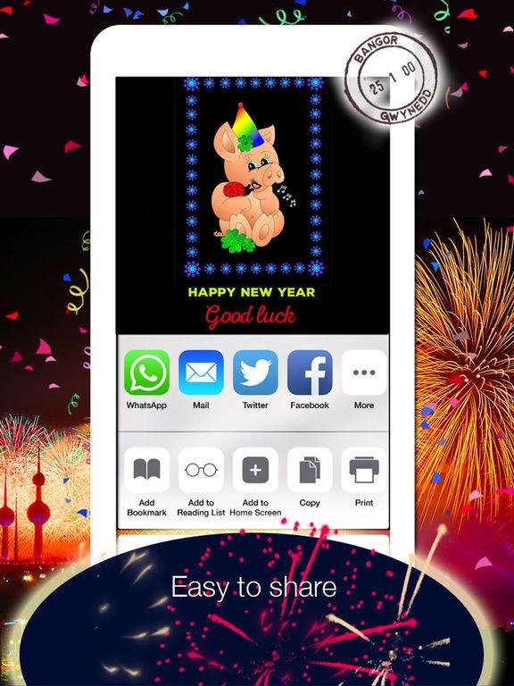 2019 Happy New Year Greetings screenshot 5