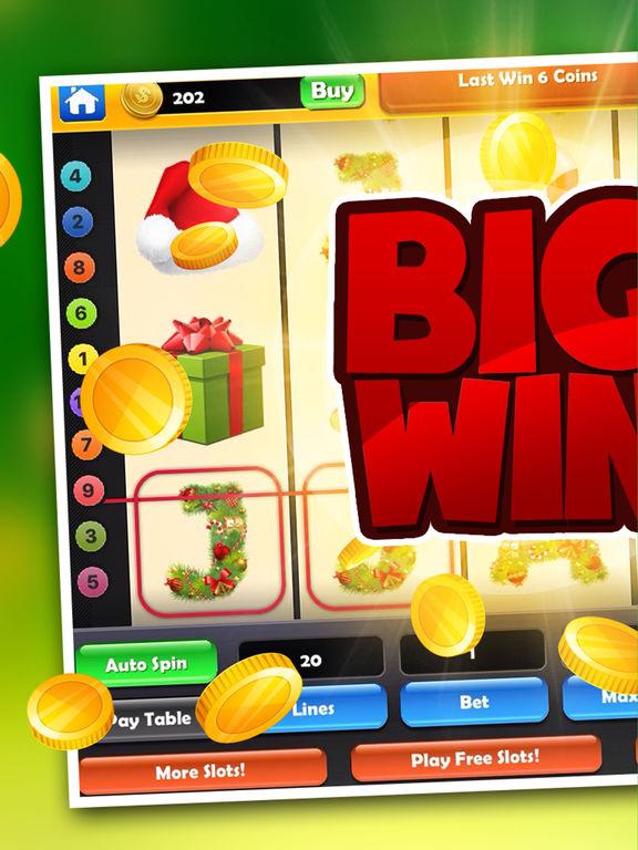 Christmas Slots! Super Huuuge Gold Jackpot Casino screenshot 6