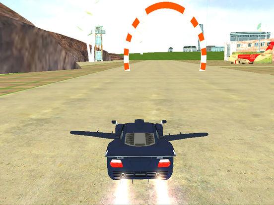 AirBorne Flying Car : Fast Racing Sim-ulator 2017 screenshot 5