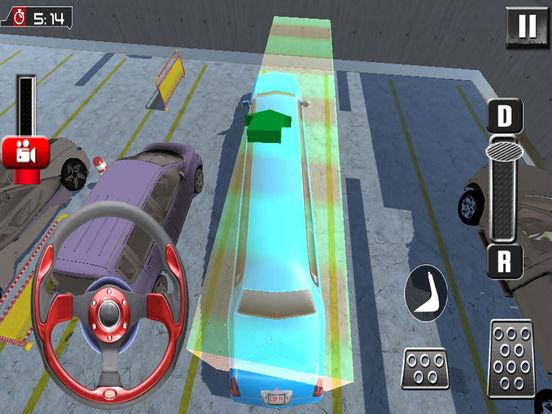 Snow Limo Parking : Crazy Driving Sim-ulator 2017 screenshot 7
