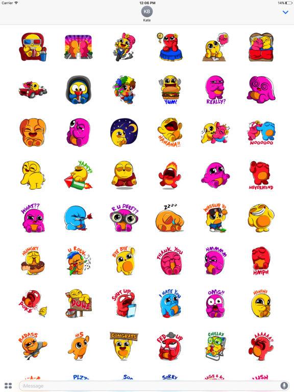 Boo Stickers screenshot 5