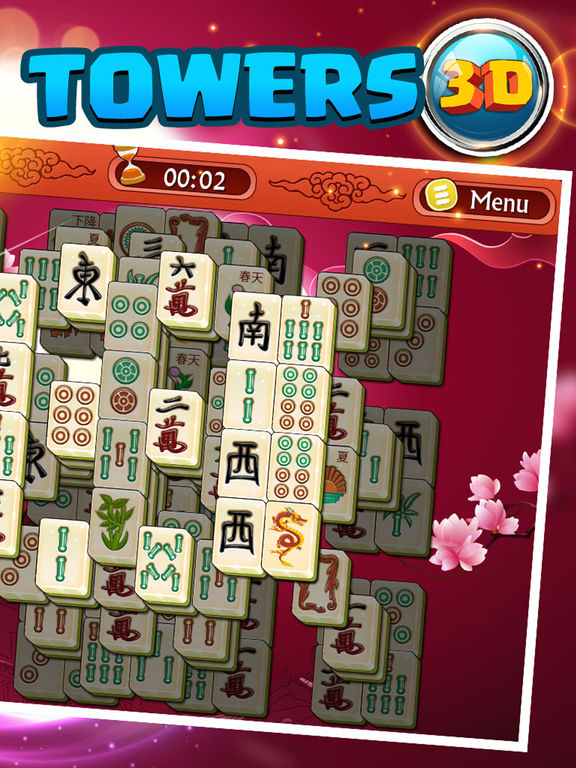 Mahjong Towers Pro 3D - Deluxe Puzzle Blitz screenshot 7