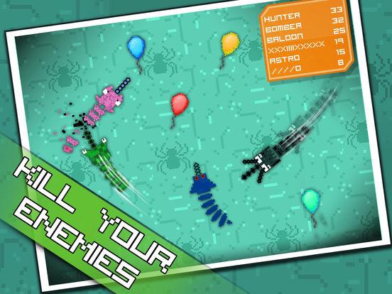 Pixel Sword Fish io screenshot 7