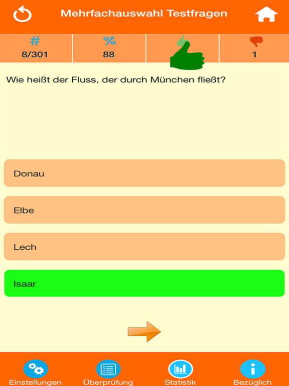 Deutschland Wissens Quiz screenshot 7