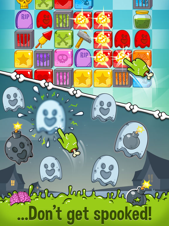 Zedd the Zombie - Grow Your Wacky Friend screenshot 9