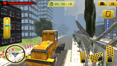 Road Roller and City Builder with Excavator screenshot 1