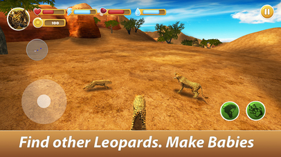 Leopard Family Simulator Full screenshot 2
