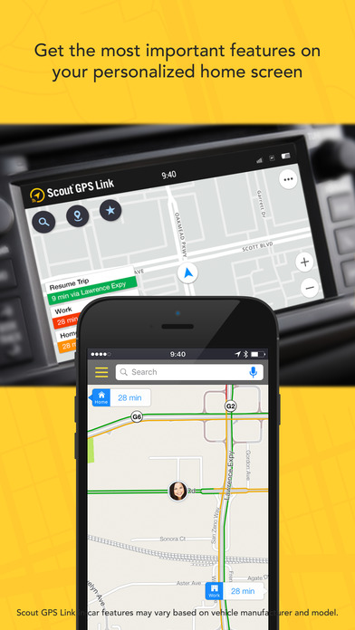 gps app for iphone scout gps link on the app 14234