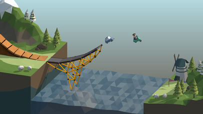 Poly Bridge screenshot 1