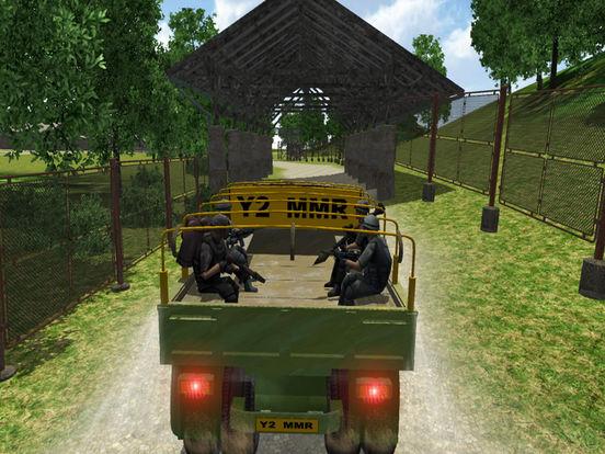 4x4 Military Jeep Driving Simulator in War Land screenshot 10