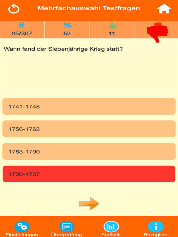 Deutsche Geschichte Quiz screenshot 8