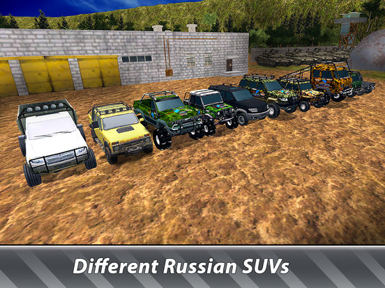 Russian SUV Offroad Simulator Full screenshot 8