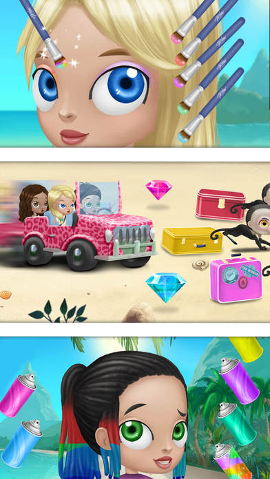 BFF World Trip Hawaii - No Ads screenshot 4