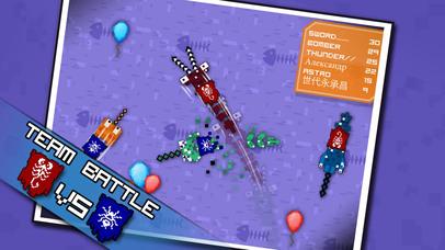 Pixel Sword Fish io screenshot 3
