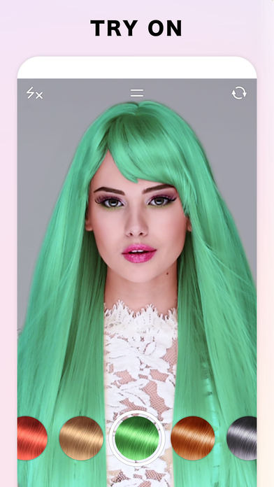 Fabby Look — Hair Color Editor screenshot 2