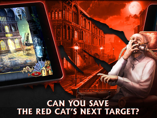 Grim Facade: The Red Cat - Hidden Objects screenshot 7