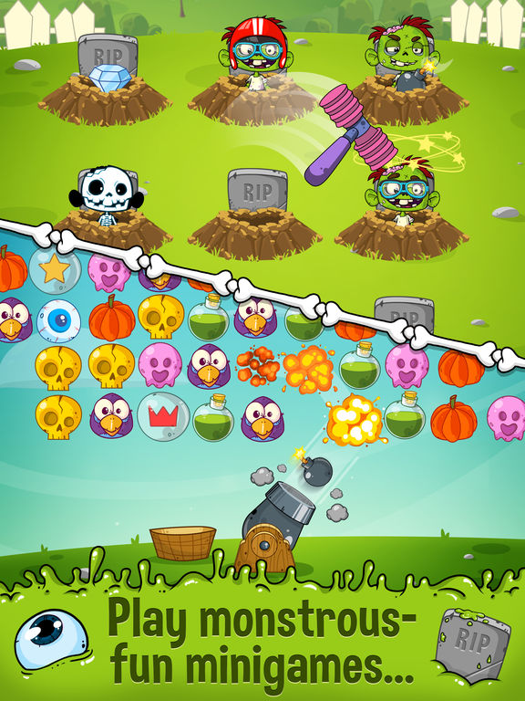 Zedd the Zombie - Grow Your Wacky Friend screenshot 8