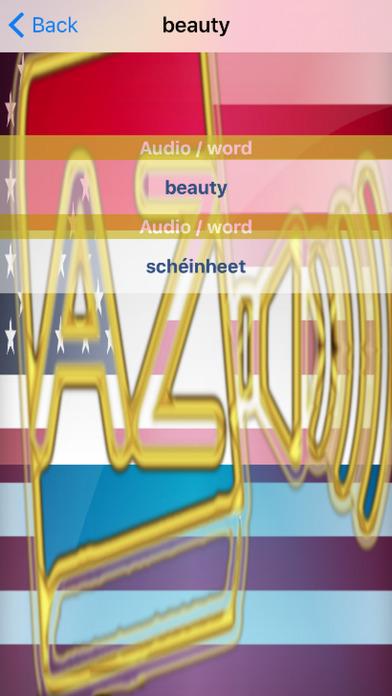 Luxembourgish Dictionary GoldEdition screenshot 5