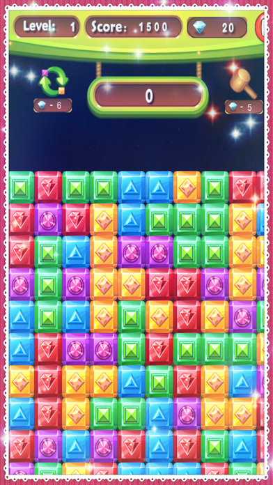 Diamond Crush Games World 2017 Puzzle screenshot 1