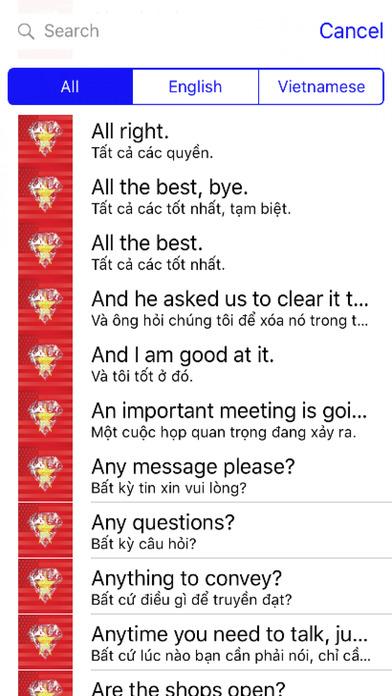 Vietnamese Phrases Diamond 4K Edition screenshot 1