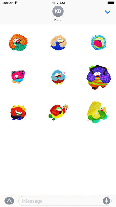 Animated Watercolor Fat Owl Stickers screenshot 2
